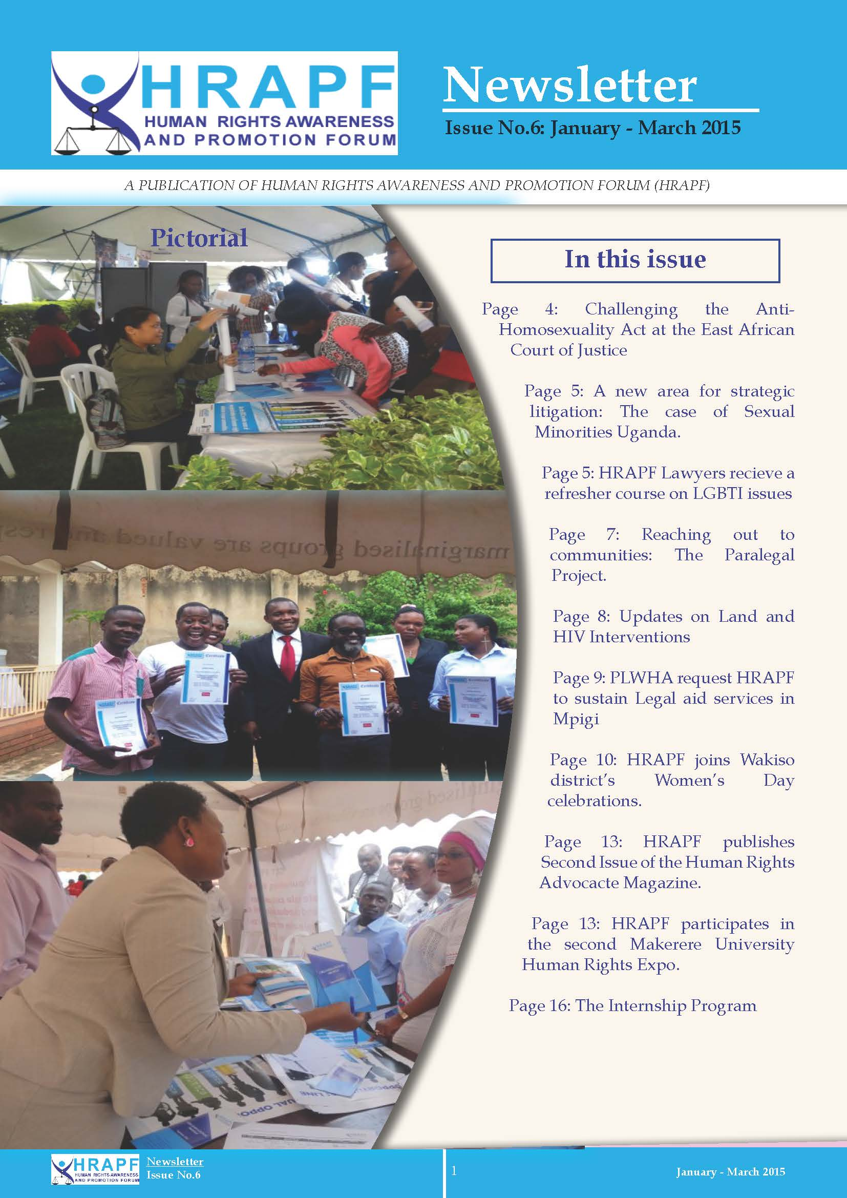 Final Hrapf newsletter 6th issue