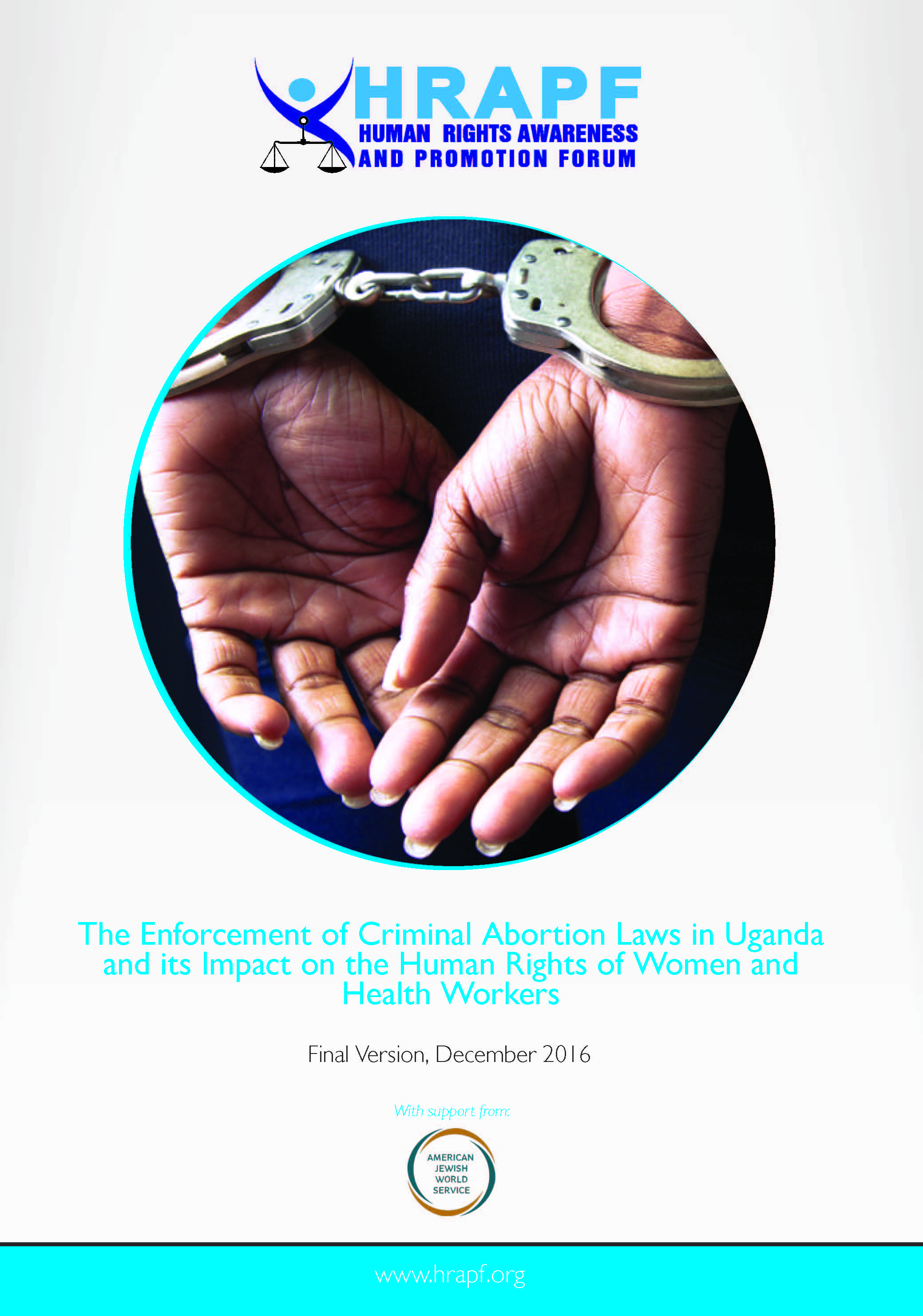 Hrapf report on enforcement of criminal abortion laws study