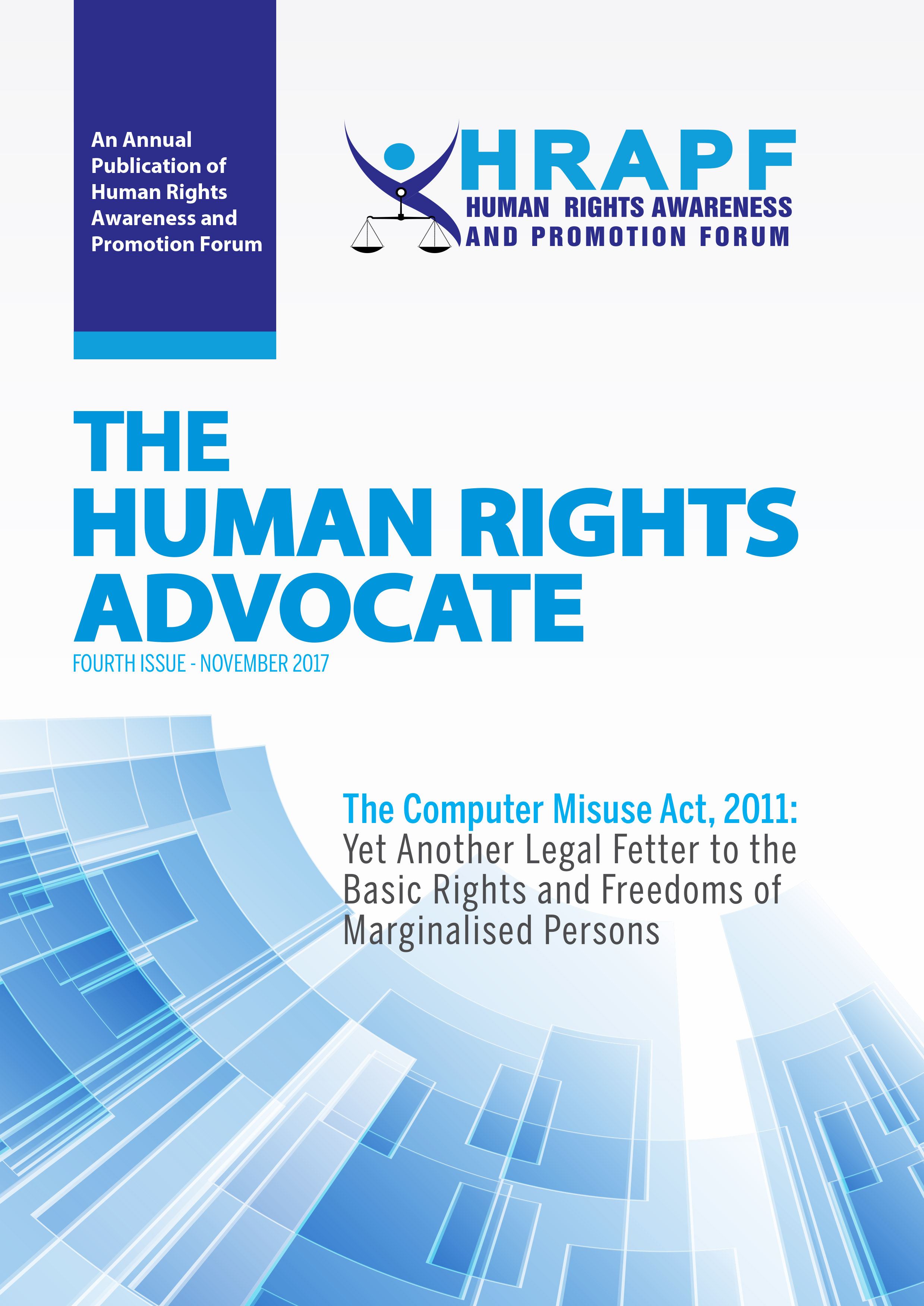 Fourth Issue of the Human Rights Advocate