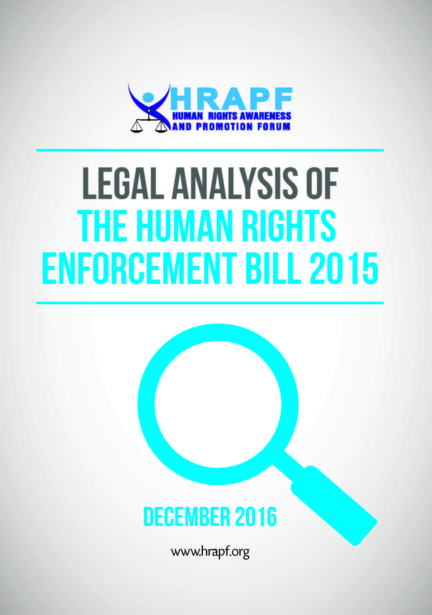 Legal Analysis of the Human Rights Enforcement Bill
