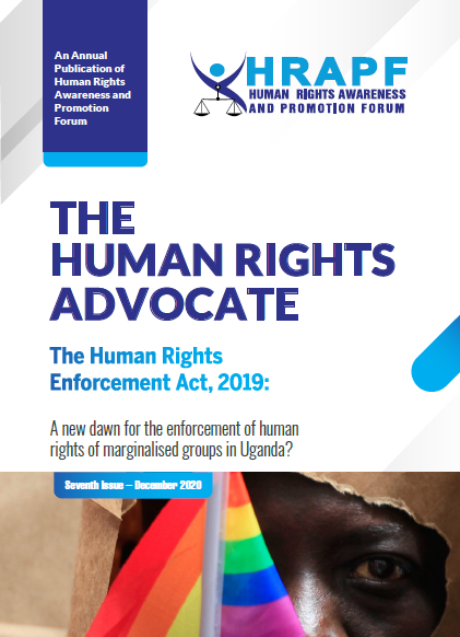 SEVENTH ISSUE OF THE HUMAN RIGHTS ADVOCATE