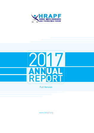 HRAPF Annual Report 2017