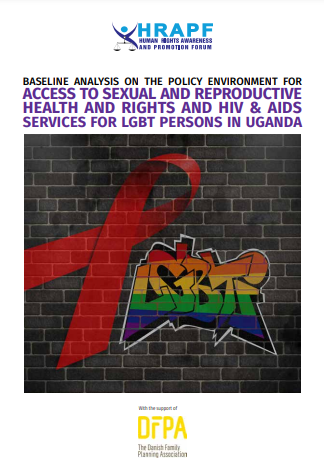Baseline study of policy framework on access to SRHR for LGBT persons in Uganda