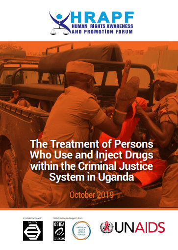 The treatment of PWUIDs in the criminal justice system in uganda