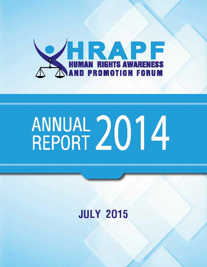 Annual report for the year 2014