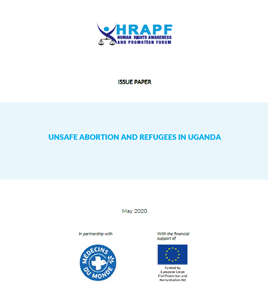 Issue Paper on Unsafe Abortion and Refugees in Uganda
